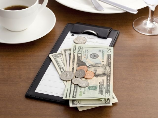 Do you usually leave a tip when dining out?
