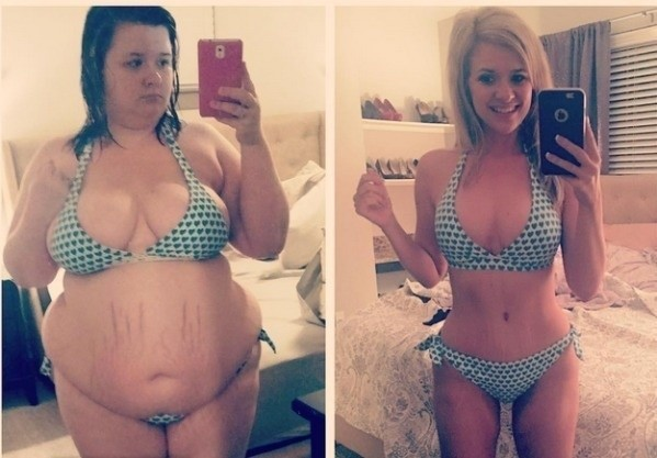 Christine Carter from Texas. She lost more than 150 pounds in 15 months.