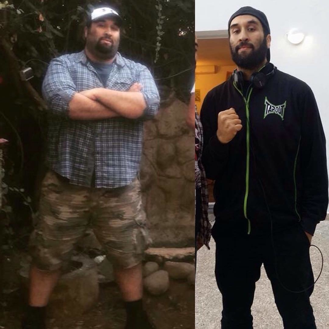 Saïd Adali from Morocco. He lost about 116 pounds just by a right diet.