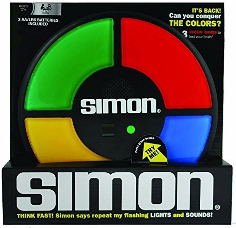 Simon Says game to show your kids how cool you were - $17.99