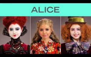 Watch these makeup artists transform this young woman into SIX different cartoon characters.