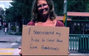 They asked homeless people to tell one fact about themselves. This is what happened